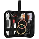 String Changing Tool, Durable HighQuality Materials Guitar Repairing Tool, Easy Transportation and Storage with A Carrying Case for Bass Electric Guitar