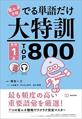 でる単語だけ大特訓英検1級TOP800(省エネ合格)