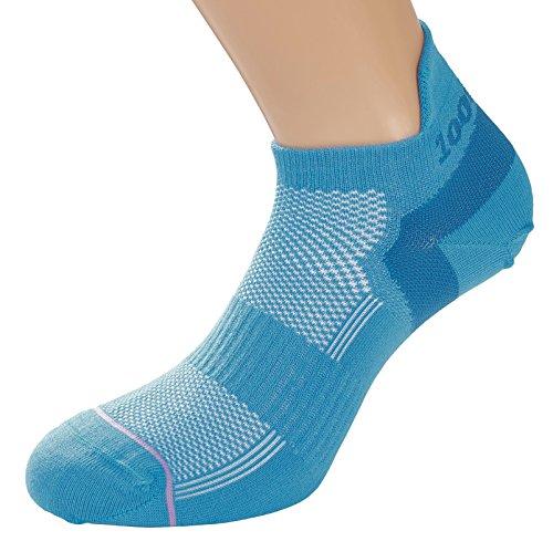 1000 Mile Damen Sneaker Liner Sportsocken Teal M