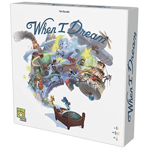 Asmodee-When I Dream-Jeu de Plateau (Repos Production RPWD0001)