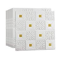 フォームボードの壁紙、粘着性の3Dステレオウォールステッカーレンガパターンの壁紙防水防湿はスクラブすることができます寝室のテレビの壁の暖かい装飾ステッカー,E