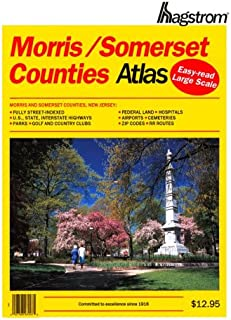 Hagstrom Morris, Somerset Counties Atlas: Large Scale Edition