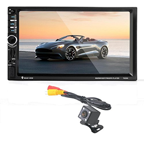 Tefamore 17,8cm touch screen HD Bluetooth GPS Car stereo radio 2DIN FM/MP5/MP3