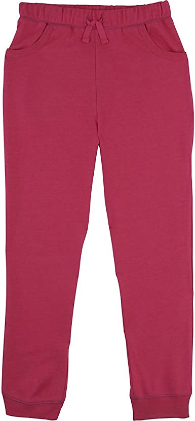 French Toast Girls French Terry Short Fiery Coral Heather 4T