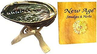 New Age Smudges and Herbs Abalone Shell 5-6
