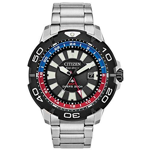 Citizen Eco-Drive Promaster Diver Quartz Mens Watch, Stainless Steel, Silver-Tone (Model: BJ7128-59E)