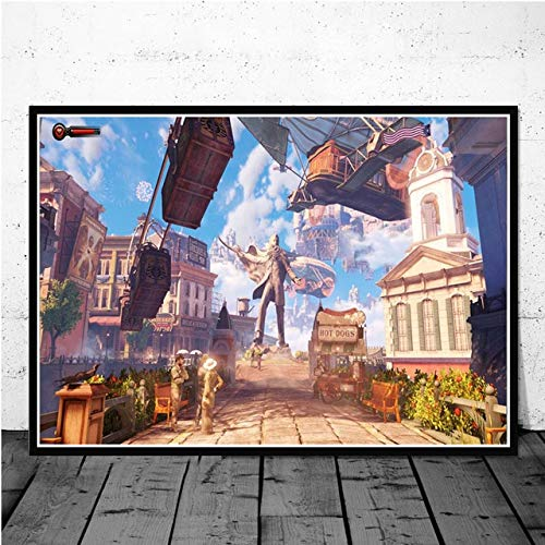 AQgyuh Puzzle 1000 Piezas Rhapsody Videojuego Imagen de Arte Retro Puzzle 1000 Piezas Adultos Rompecabezas de Juguete de descompresión intelectual50x75cm(20x30inch)