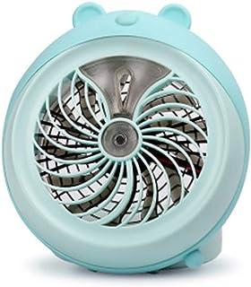 POA Portable Small Fan Small Mini Fan Spray, Cartoon USB Charging Small, Portable Humidifying Mini