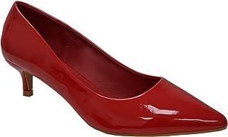 CucuFashion Escarpins pour femme – Chaussures à talon chaton | Chaussures pour femme | Chaussures pour femme | Pointure 36-42