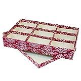 OC ORDEN EN CASA Y MUCHO MAS Caja 9 Compartimentos Caras 34,25 * 22,86 * 5,71cm