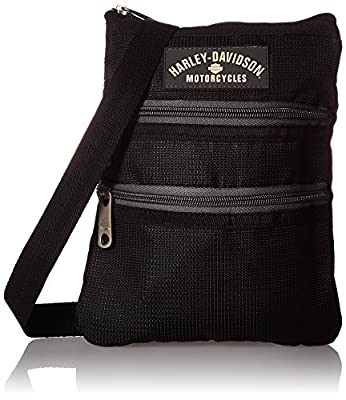 Harley Davidson X-Body Sling Backpack, Black, One Size