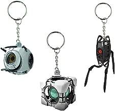 Portal Vinyl Keychain Gift Set: Space Sphere, Refracting Box, Defective Turret