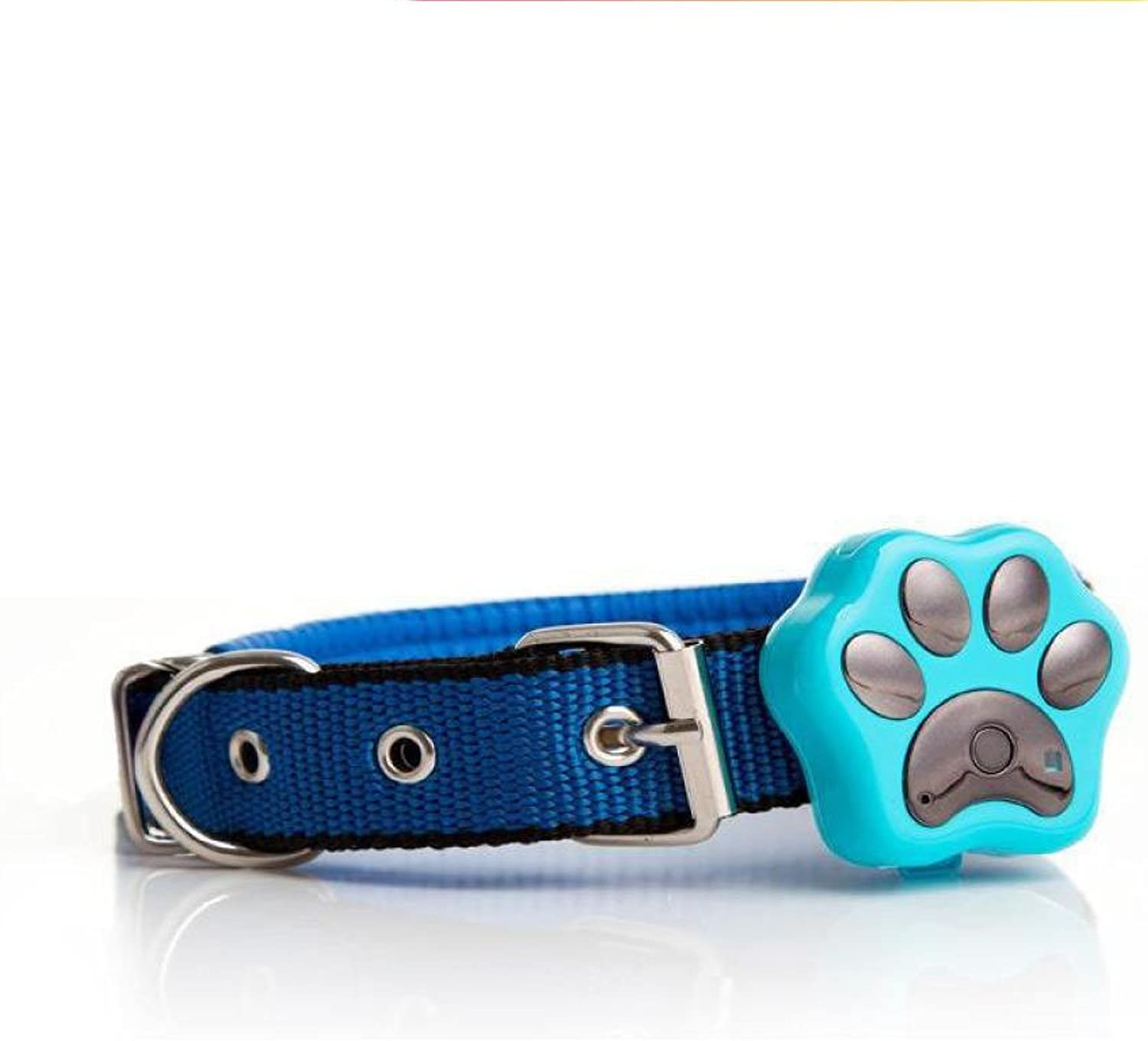 Pet GPS Trackers Waterproof 3G Positioning Locator AntiLost Prevent Wander For Cats Dogs Rabbits Rechargeable,bluee