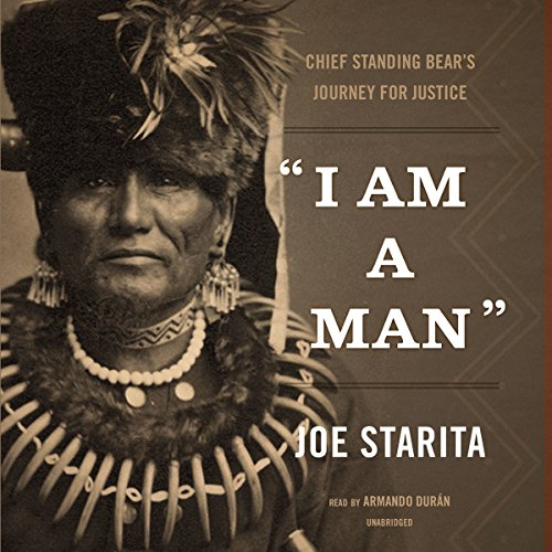 """I Am a Man"" audiobook cover art"