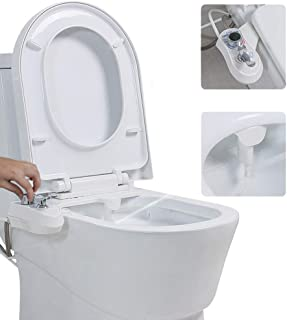 VBARV Toilet Automatic Cleaning Nozzle - Butt Flusher Fresh Water Non-Electric Mechanical Bidet Toilet Accessories Smart Toilet Cover Body Cleaner