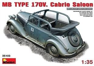 Miniart Min35103 1:35 - German Staff Car 170V Plastic Model Kit