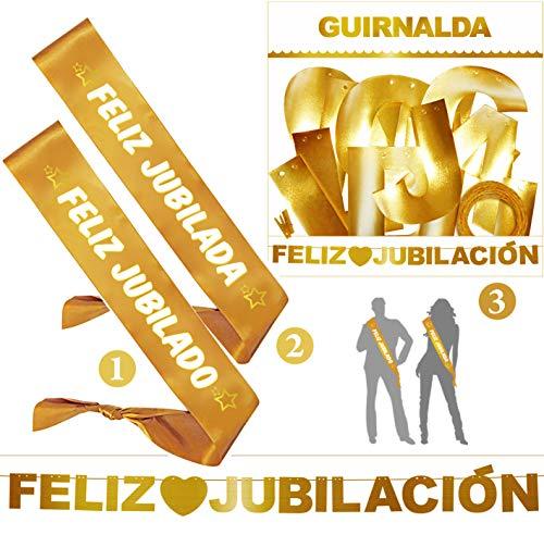 Inedit Festa - Bandas Honoríficas Jubilado Jubilada y Guirnalda Feliz Jubilación