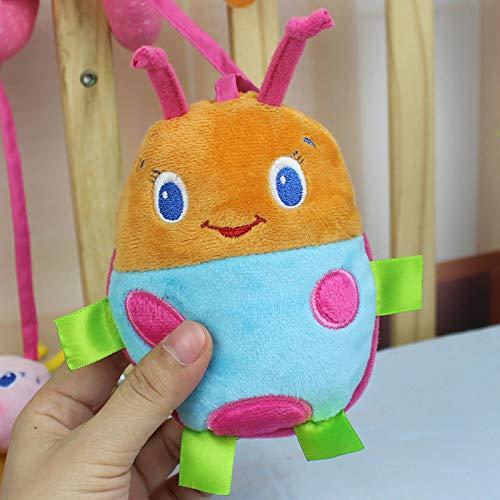 kentop giocattoli ciondoli Spirale di animali per culla Carrozzina carrello giocattolo Ape peluche, 25cm