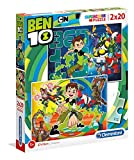 Clementoni-Clementoni-07035-Supercolor Collection-Ben 10-2 x 20 piezas, 07035, multicolor , color/modelo surtido
