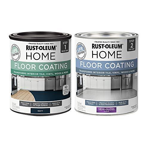 Rust-Oleum 367603 Home Interior Floor Coating Kit, navy