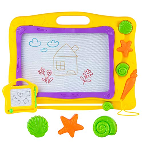 Product Image of the Toyvelt2021 Magna Doodle Magnetic Drawing Board Pad For Kids And Toddlers - 16...