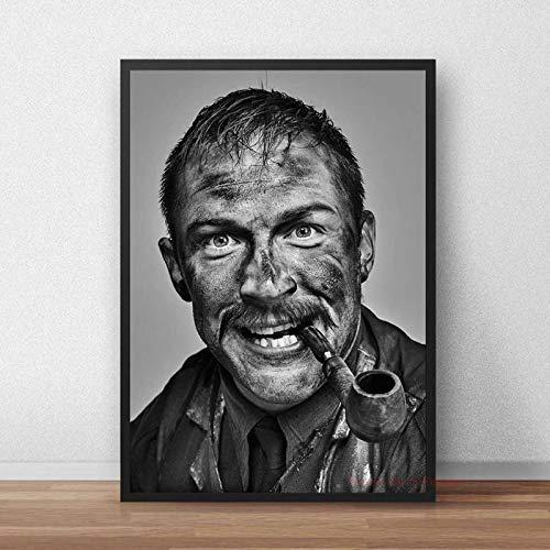 Zhengnengliang Póster de película británica de Tom Hardy, Actor de televisión, Lienzo, Arte de Pared, Impresiones en HD, decoración para Sala de Estar, hogar, 50x70 cm in J-1881