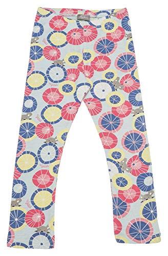 Sigikid Mädchen Leggin, Mini Leggings, Mehrfarbig (Starlight Blue 575), (Herstellergröße: 128)