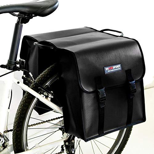 thorityau Fahrrad Satteltaschen,Fahrradtaschen für Gepäckträger,Gepäckträgertasche,wasserdichte Fahrradtasche Hinterradtasche Gepäckträger Tasche