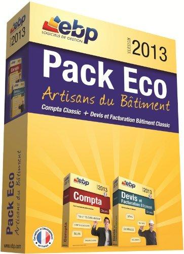 EBP Pack Eco Artisans du Bâtiment 2013
