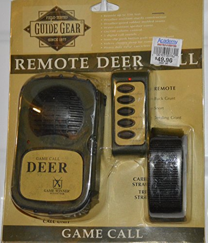 Guide Gear Remote Control Deer Game Call Hunting