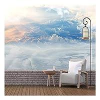 3D壁画壁紙青空白雲カモメリビングルームソファ寝室背景壁画