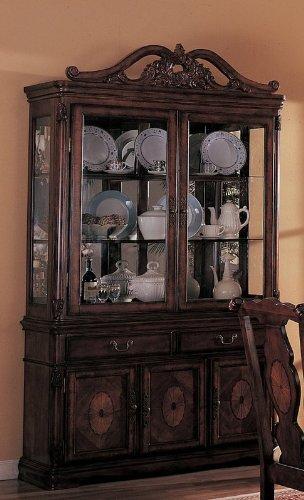Old Elegance Buffet/Hutch by Coaster Furniture