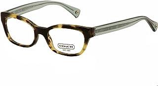 c125d4b2c4c6 Coach Hadley Eyeglasses HC6042 5093 Dark Vintage Tortoise Demo Lens