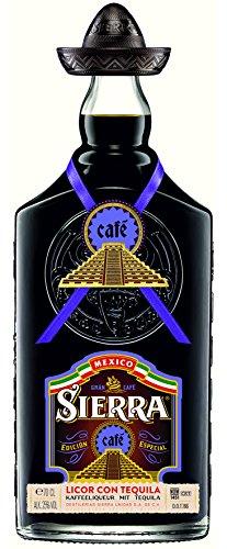 Sierra Café Edición Especia Licor Con Tequila - 700 ml