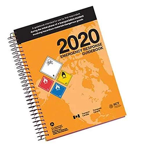 Labelmaster 2020 Emergency Response Guidebook (Erg), Spiral Bound, Full Size, Guide to Help When Responding to Transportation Emergencies Involving Hazardous Materials