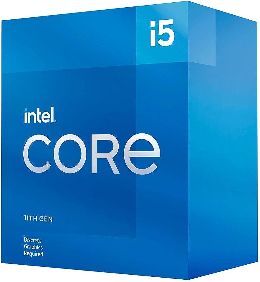 Intel Core i5-11500 11. Generation Desktop Prozessor (Basistakt: 2.7GHz Tuboboost: 4.6GHz, 6 Kerne, LGA1200) BX8070811500