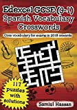 Edexcel GCSE (9-1) Spanish Vocabulary Crosswords: 117 crossword puzzles covering core vocabulary for exams in 2018 onwards