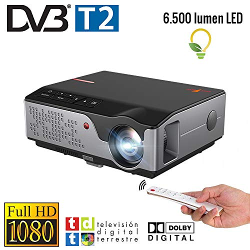 Proyector Full HD Nativo 1080P con TDT