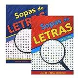 Crucigrama-Sopas De Letras IV, 2 Titles, Spanish Word Search Find Words Book, Word...