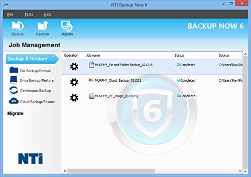 NTI Backup Now PRO 6 (5-PCs) | The