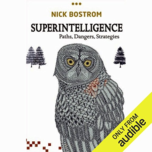 Superintelligence audiobook cover art