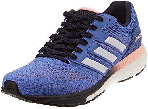 Adidas Adizero Boston 7 w, Zapatillas de Trail Running Mujer, Multicolor (Lilrea/Ftwbla/Tinley 000), 36 2/3 EU