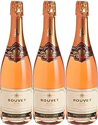 Bouvet Ladubay Brut Rose Excellence (3 x 0.75 l)