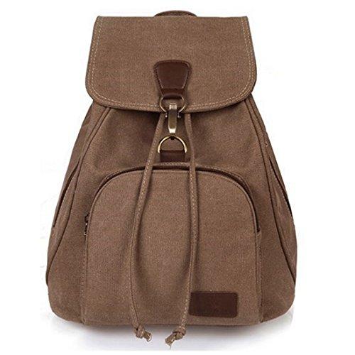 SOFÍA moda simple mochila bolsa de lona de color sólido para el viaje de las señoras casuales niñas bolsas de la escuela Ventilador de la lona de arte cubo minimalista bandolera mochila ultraligera,M8