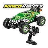 Ninco NH93122 NincoRacers-Croc. Monster Truck teledirigido con gran capacidad de giro. 2.4GHz. Medidas: 21 cm x 18 cm x 8,5 cm. A partir de 6 años. Color Verde, 43489