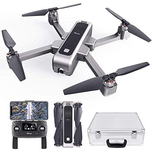 Potensic Drone Pieghevole Brushless GPS con Telecamera 2K Quadricottero D88 5G WiFi FPV RC Videocamera con Valigetta Ritorno a Casa, Posizionamento Flusso Ottico, Mantenere l\'Altidutine ad Ultrasuoni
