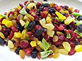 TiniKart Mixed Berries and Dried Fruits - 300 grams | 9 Varieties | Candied Fruits | Blueberry, Cranberry, Gojiberry, Dried Mango, Dried Kiwi, Dried Pineapple | Mix Fruits for Cake | Contains Sugar