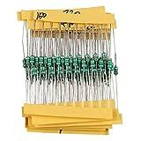 HALJIA - Juego de inductores de anillo coloreado de 1/4 W, 0,25 W, 1 uH ~ 1 MH DIP de colo...