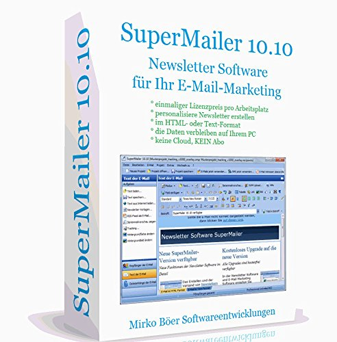 Newsletter Software SuperMailer Professional Unlimited | Serienmail Programm