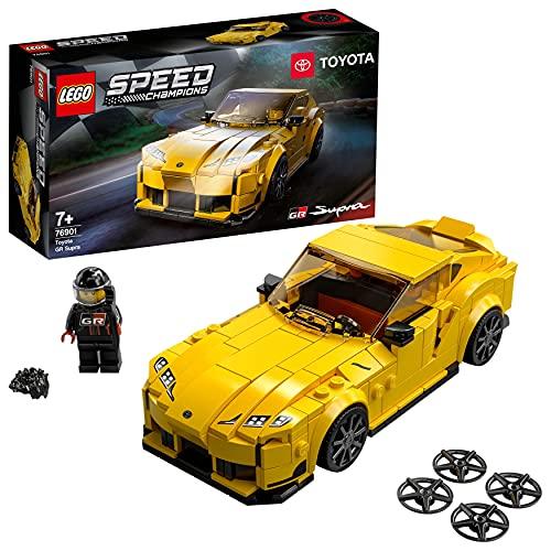 LEGO® Speed Champions Toyota GR Supra 76901 — zestaw konstrukcyjny z autem; samochód wyścigowy dla dzieci (299 elementów)